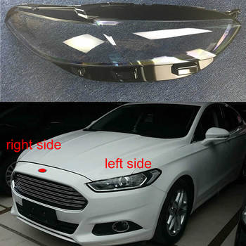 Front Headlamps Glass Cover Transparent Lampshades Lamp Shell Masks For Ford Mondeo 2013 2014 2015 2016