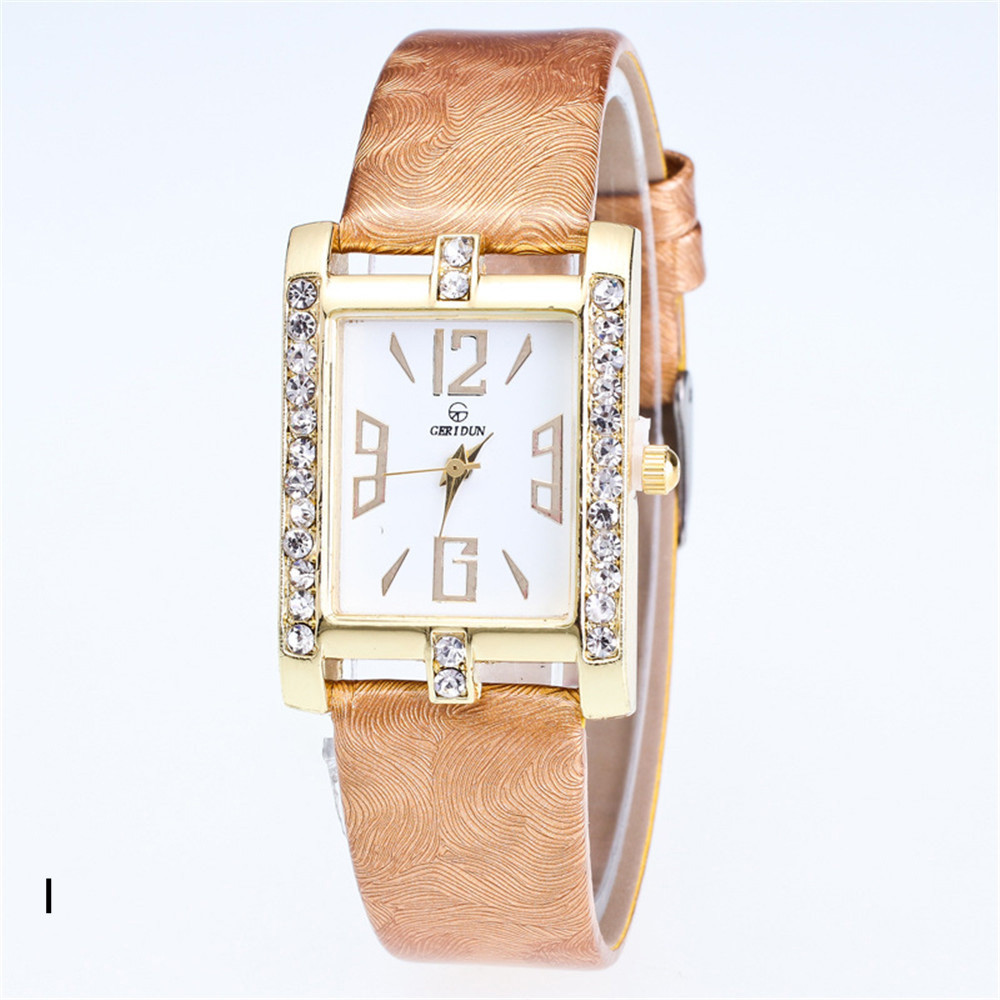 Luxury Brand Watch Women Rectangle Clocks Small Dress Watch For Girls  Watches In Quartz Wristwatch Retro Ladies Watch Reloj