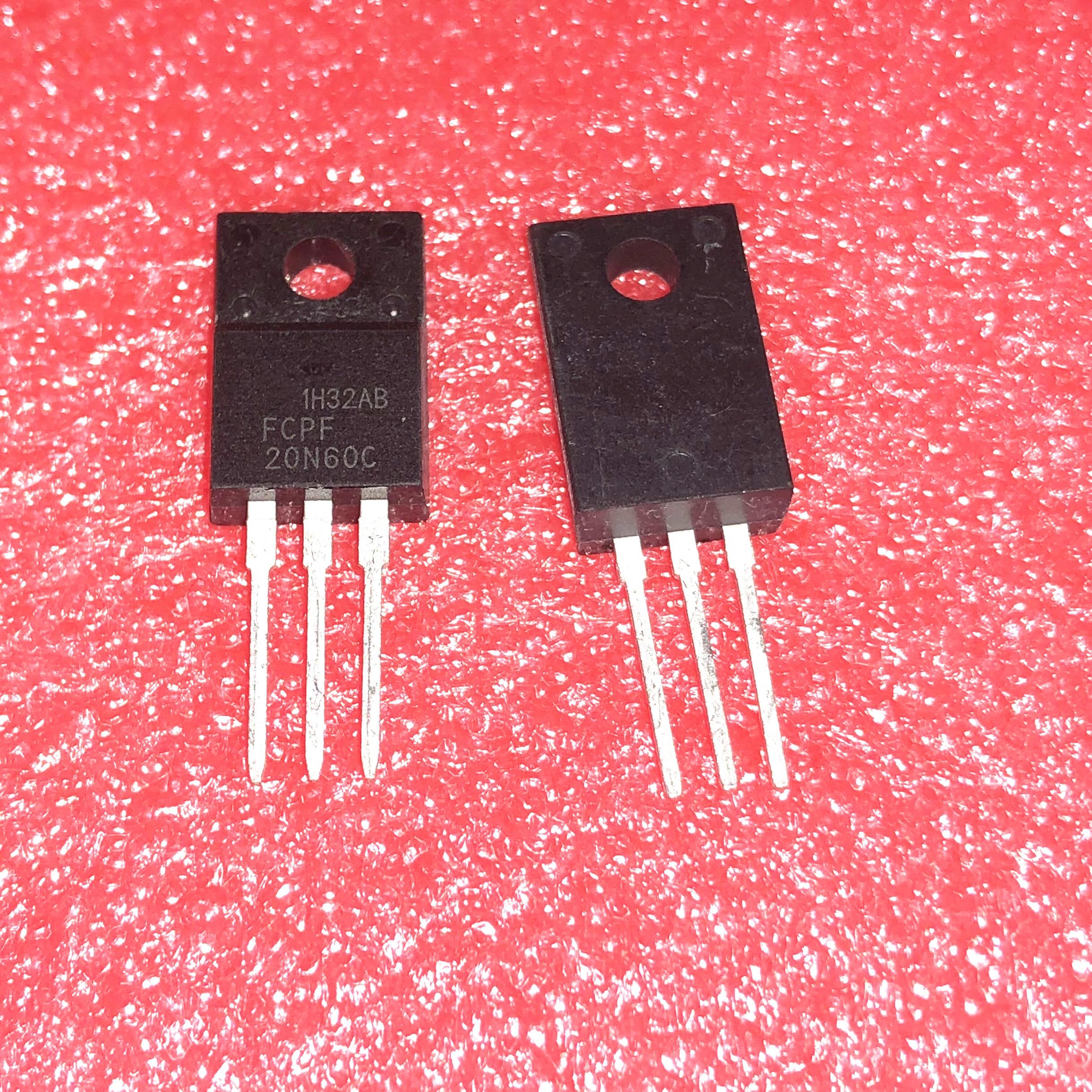 10pcs/lot FCPF20N60 FCPF20N60C  20N60C3 P20NM60FP 20N60 TO-220F In Stock