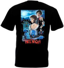 Hell Night V2 T-Shirt Black All Sizes S 3xl For Youth Middle-Age The Old Tee Shirt(China)