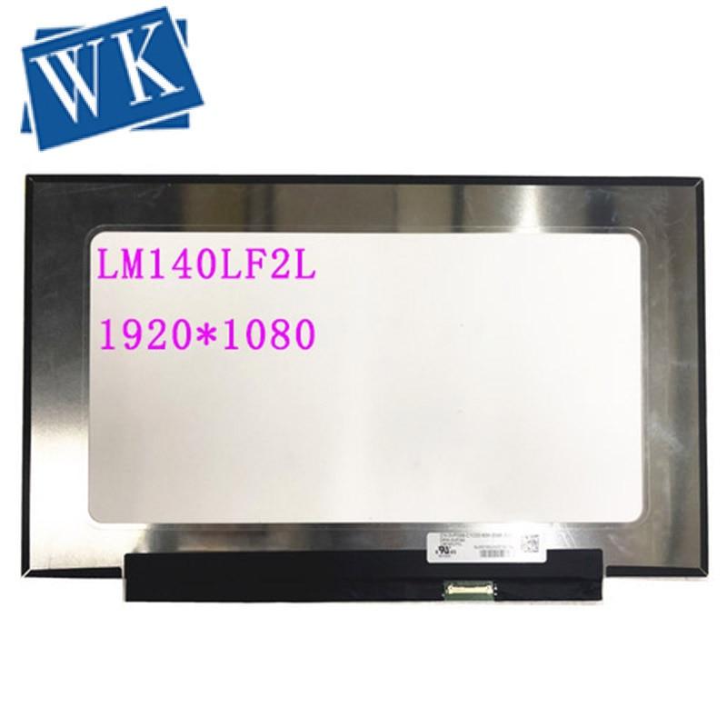 Free Shipping LM140LF2L 14.0''laptop Lcd Screen Panel 1920*1080 EDP 30 PINS DP/N: 0VP088