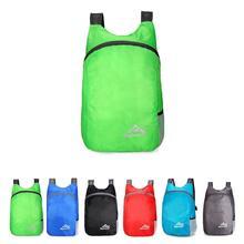 Plecak składany 20L lekki wodoodporny plecak sportowy tanie tanio MOJOYCE CN (pochodzenie) Sports Unisex Miękka Poliester