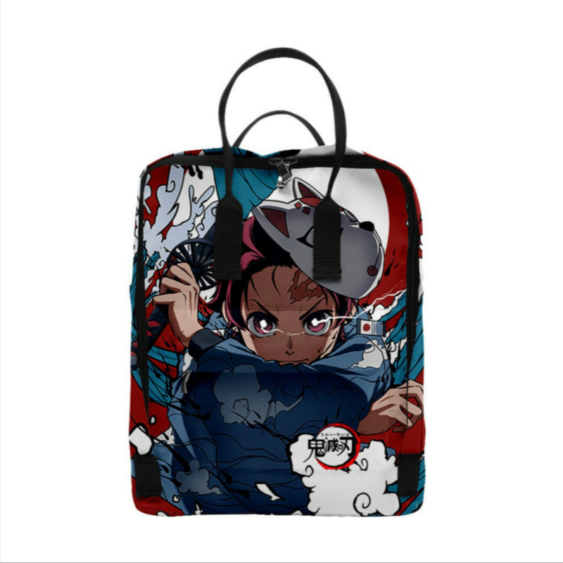 Drawstring Backpack Ghost Rucksack