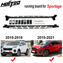 Model Sportage-Side Steps KIA for New Running-Board Side-Bar .upgraded Add Bright-Strip