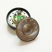 15.4mm 이어폰 스피커 MX500 티타늄 필름 32ohm 110DB 모니터 플랫 헤드폰 스피커 드라이버 DIY