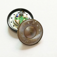 15.4mm אוזניות רמקול עבור MX500 טיטניום סרט 32ohm 110DB צג שטוח אוזניות רמקול נהג DIY