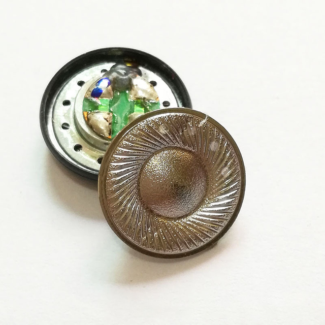 Trasduttore Auricolare di 15.4mm Altoparlante per MX500 Titanio Pellicola 32ohm 110DB Monitor Piatto Altoparlante Della Cuffia Driver FAI DA TE