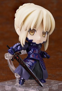 Image 3 - Japan Anime Action figure Fate/stay Night Grand Order ALTER saber fighting 363# Q ver PVC 10cm collection cute figure kids doll