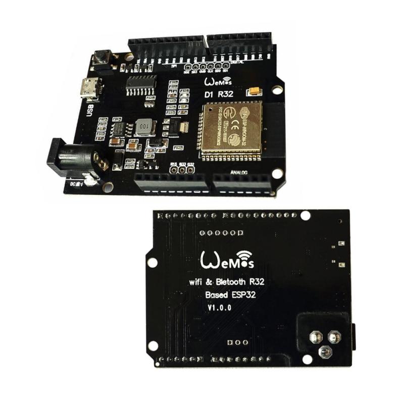 ESP32 для Wemos D1 Mini для Arduino R3 D1 R32 WIFI Беспроводная Bluetooth макетная плата CH340 4M Memory One
