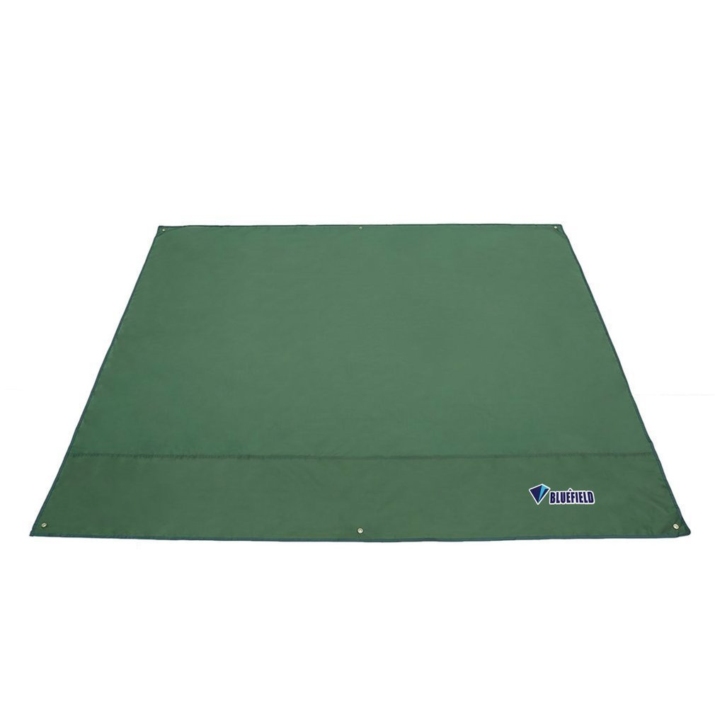 Compact Size Waterproof Camping Tarp for Picnics Tent Sunshade 210D Oxford Fabric Sun Shelter Outdoor Camping Mat
