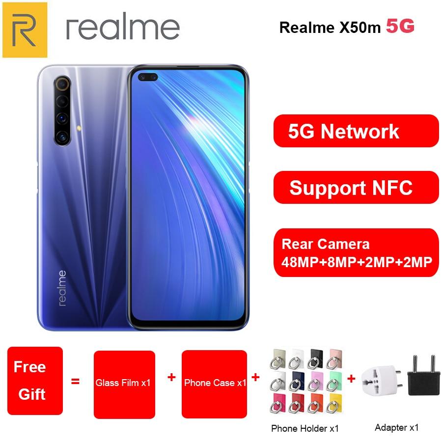 2020 New Realme X50m 5G Mobile Phone 6.57