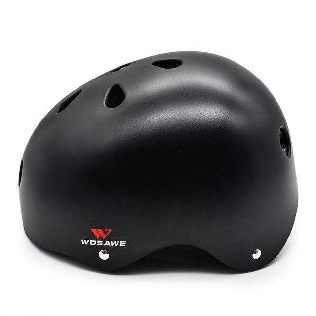 Capacete de segurança para bicicleta, capacete de segurança multiesportivo com espuma eps para adultos e crianças, skate e scooter de skate 5