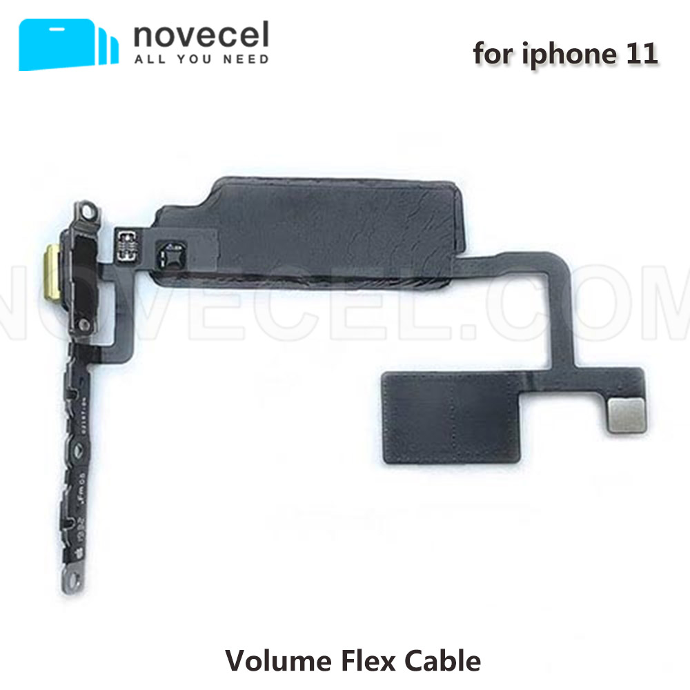 Novecel 5pcs/lot New Arrival High Quality Volume Flex Cable  For IPhone 11 Mobile Parts Replacement