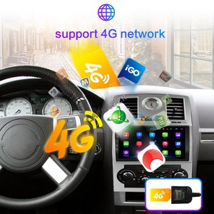 Image 4 - 2 딘 자동차 라디오 2Din 안드로이드 Autoradio 멀티미디어 플레이어 자동 오디오 크라이슬러 아스펜 300C 2004 2005 2006 2007 2008 GPS 와이파이 4G