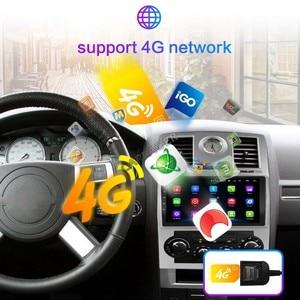 Image 4 - 2 din Car Radio 2Din Android Autoradio Multimedia Player Auto audio for Chrysler Aspen 300C 2004 2005 2006 2007 2008 GPS wifi 4G