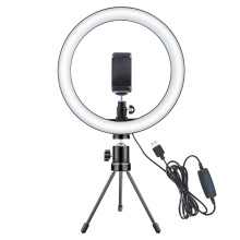 LED Selfie Ring Light 10W Night Light 10inch Dimmable Camera Phone Ring Lamp for Xiaomi Facebook Youtube Makeup
