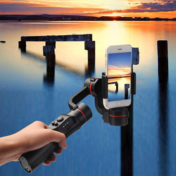 H2 3 Axis Support Extension Video Record Vlog Live Travel Smartphone Stabilizer USB Charging Handheld Gimbal Outdoor Universal