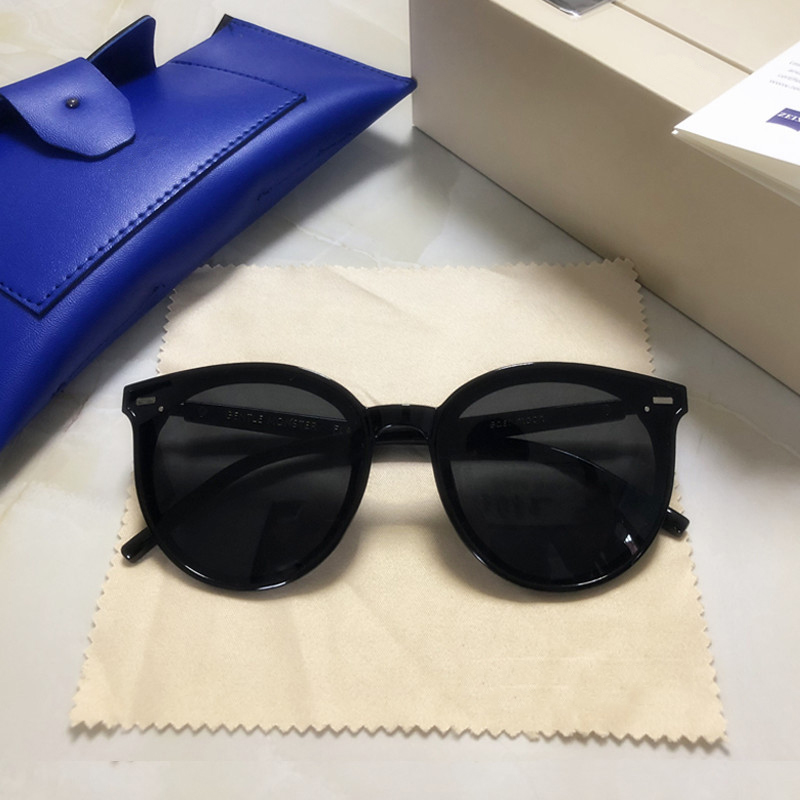 2019 Original Designer Gentle Monster Women Sunglasses Retro Lady Vintage Cat Eye Sun Glasses Luxury Package East Moon Sunglass