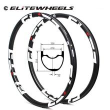 Super Light 29er MTB Carbon Rim Tubeless Ready Weight 355g 33*29mm Width For XC/AM Cross Country Mountain Wheels Asymmetric Rims