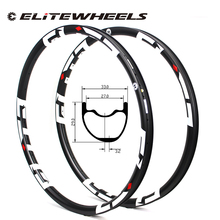 Super Light Weight 350g/piece 33mm Width 29er MTB Rim Tubeless Ready For XC Cross Country Mountain Wheels Asymmetric Style Rims