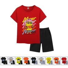 2020 New Boys Clothes set Summer Kids Baby Cartoon 100%Cotton printing T Shirt Boy Outfit Sport Suit Children Clothing 2-8Years new summer toddler baby boy clothing set cute t shirt shorts 2pc cute casual cartoon children boys clothes suit for kids outfit