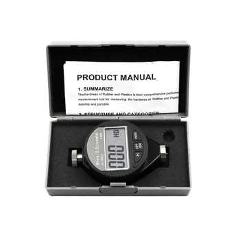 Hardness Tester Meter Digital Durometer Use to Tire Plastic Thermal Plastic - DISCOUNT ITEM  48 OFF All Category