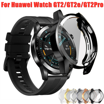 TPU Case for Huawei watch GT 2e GT 2 46mm band Watch GT2 46 mm/GT2e/GT2 Pro soft All-Around Screen Protector cover bumper Cases 1