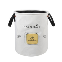 Large Capacity Storage Bucket Toy Bin Container with Lable