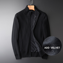 Turtleneck Hight Quality Thick Computer Knitted Slim Men's F