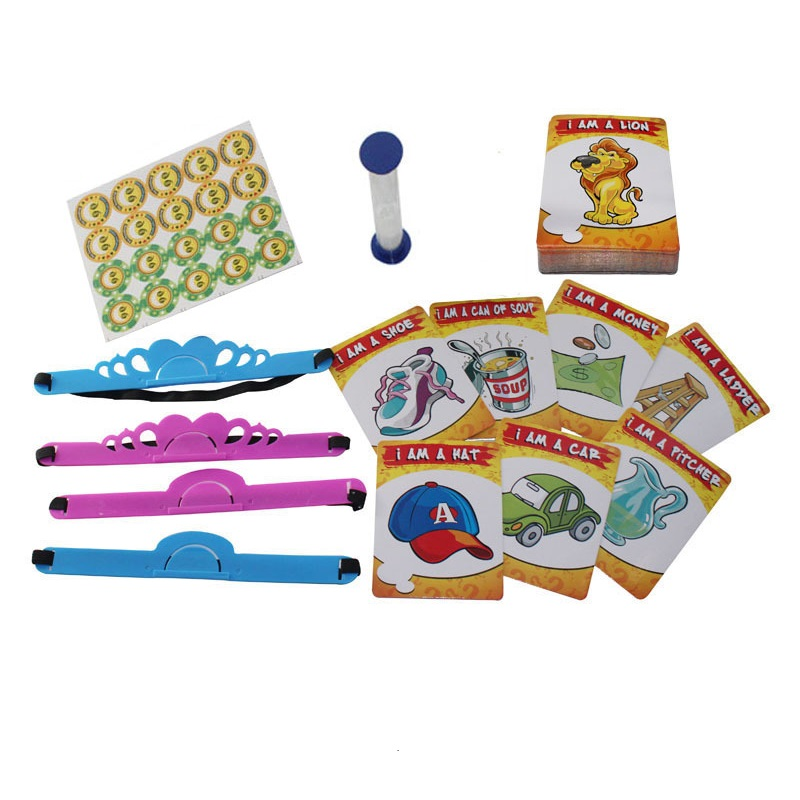 Kids Funny Toys The Quick Question of What am I Cards Board Game Funny Gadgets Novelty Toys For Children (4)