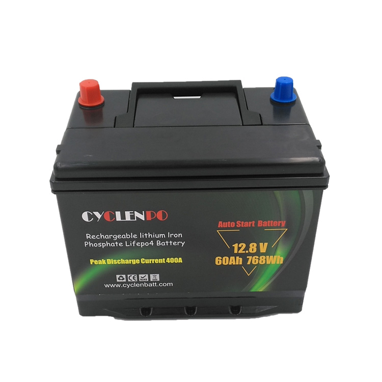auto start <font><b>12v</b></font> <font><b>60ah</b></font> <font><b>lithium</b></font> ion automotive car <font><b>batteries</b></font> image