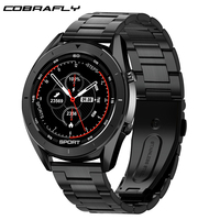 Cobrafly DT99 biznes inteligentny zegarek tętno tracker do monitorowania aktywności fizycznej IP68 wodoodporne męskie zegarki sportowe dla Xiaomi Huawei telefon w Inteligentne zegarki od Elektronika użytkowa na