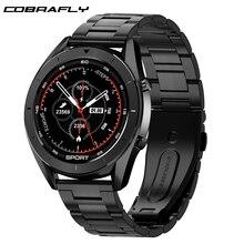 Cobrafly DT99 الأعمال ساعة ذكية مراقب معدل ضربات القلب جهاز تعقب للياقة البدنية IP68 مقاوم للماء الرجال الساعات الرياضية للهاتف شاومي هواوي