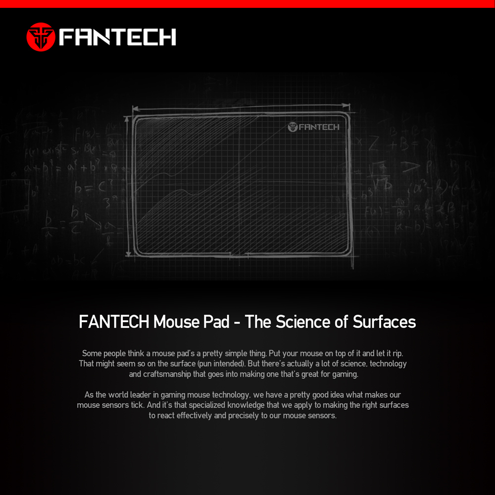 Image 2 - FANTECH MP25 Gaming Mouse Pad 25x21x0.02cm Anti slip Natural Rubber Mousepad Gamer Ultra smooth Cloth Surface  For FPS LOL Game-in Mouse Pads from Computer & Office