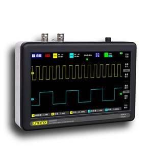 Sampling-Rate-Oscilloscope ADS1013D Digital 2-Channels with Color TFT LCD Touching-Screen