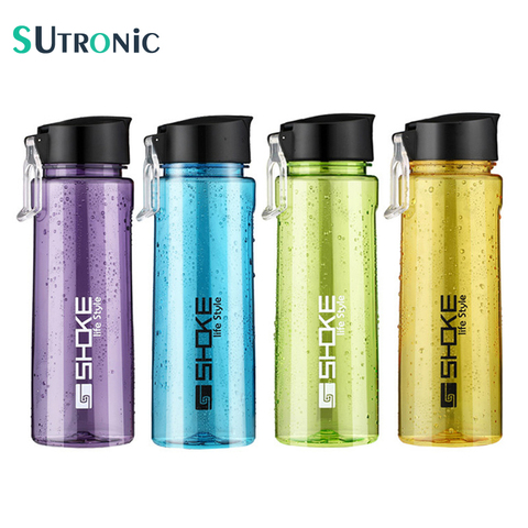 750ml Water Bottle Sports Portable High Quality Leakproof Tour Outdoor Bicycle Camping Drinking Plastic Water Bottles BPA free Pakistan