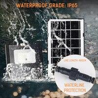 야외 정원 벽 마당 안전 led 조명  조정 가능한 조명 각도 ip65에 대 한 LTOON 30 LED 태양 조명 원격 제어