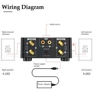 Image 5 - Novo bt5.0 amplificador digital classe d potência amplificador casa 100w estéreo de alta fidelidade som amplificador áudio suport aux tf mp3 player