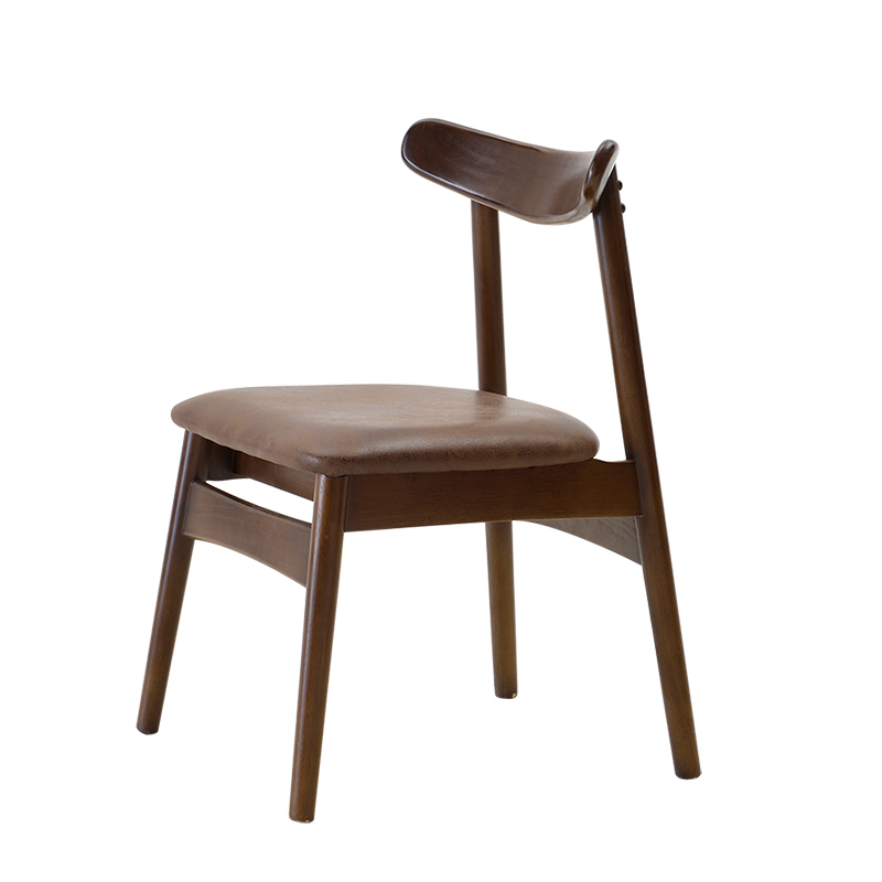 Northern European Solid Wood Dining Chair Computer Chair Office Chair Modern Minimalist Home Wooden Chair Living Room Chair