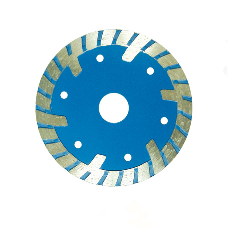 DB66 Smoothing Cutting Disc 4-9 Inch Multi Sizes Diamond Stone Cutting Wheel Protective Teeth Turbo Saw Blades No Chipping 10PCS
