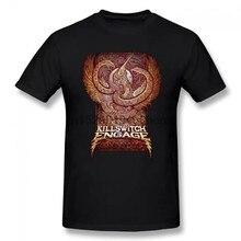 Killswitch Engage Encarnado 2 Verão Básico T-Shirt de Algodão Ocasional Curto