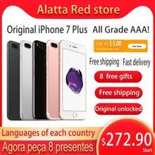 Original entsperrt Apple iPhone 7 Plus IOS smartphone iphone7p 32/128/256GB Handy 4G LTE NFC a10 Quad-core fingerprint