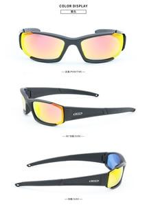 Image 3 - Gafas de sol polarizadas para hombre, unisex lentes de sol con protección UV400, lentes tácticos de estilo militar, a prueba de balas