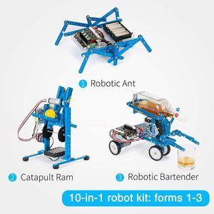 Image 4 - Makeblock Diy Ultimate Robot Kit   Premium Kwaliteit 10 In 1 Robot Stem Onderwijs Megapi Kras 2.0 Voor Kinderen, leeftijd 14 +