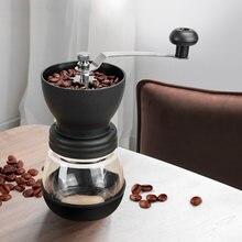 Ручная мини кофемолка из нержавеющей стали измельчитель для
