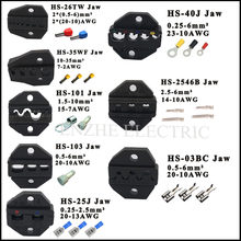 Hs série alicate 230mm maxila fio de corte personalizado maxilas HS-40J HS-2546B HS-26TW HS-35WF HS-101 catraca friso alicate estilo europeu