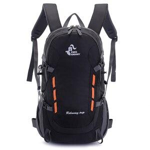 Image 1 - 40L Backpack With Outlet Outdoor Camping Hiking Trekking Rucksack Waterproof Sports Bag Backpacks Bag Climbing Travel Rucksack