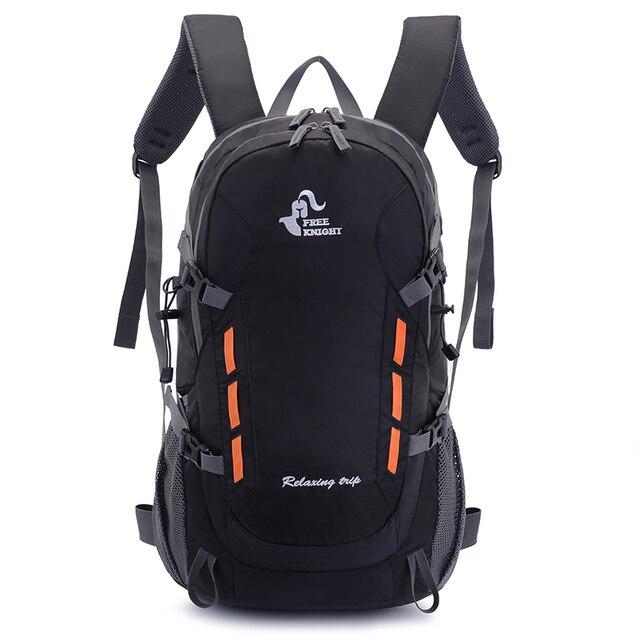 40L Backpack With Outlet Outdoor Camping Hiking Trekking Rucksack Waterproof Sports Bag Backpacks Bag Climbing Travel Rucksack