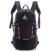 40L Zaino Con Uscita Escursione di Campeggio Esterno Trekking Zaino Sacchetto Impermeabile di Sport Zaini Borsa di Viaggio Arrampicata Zaino