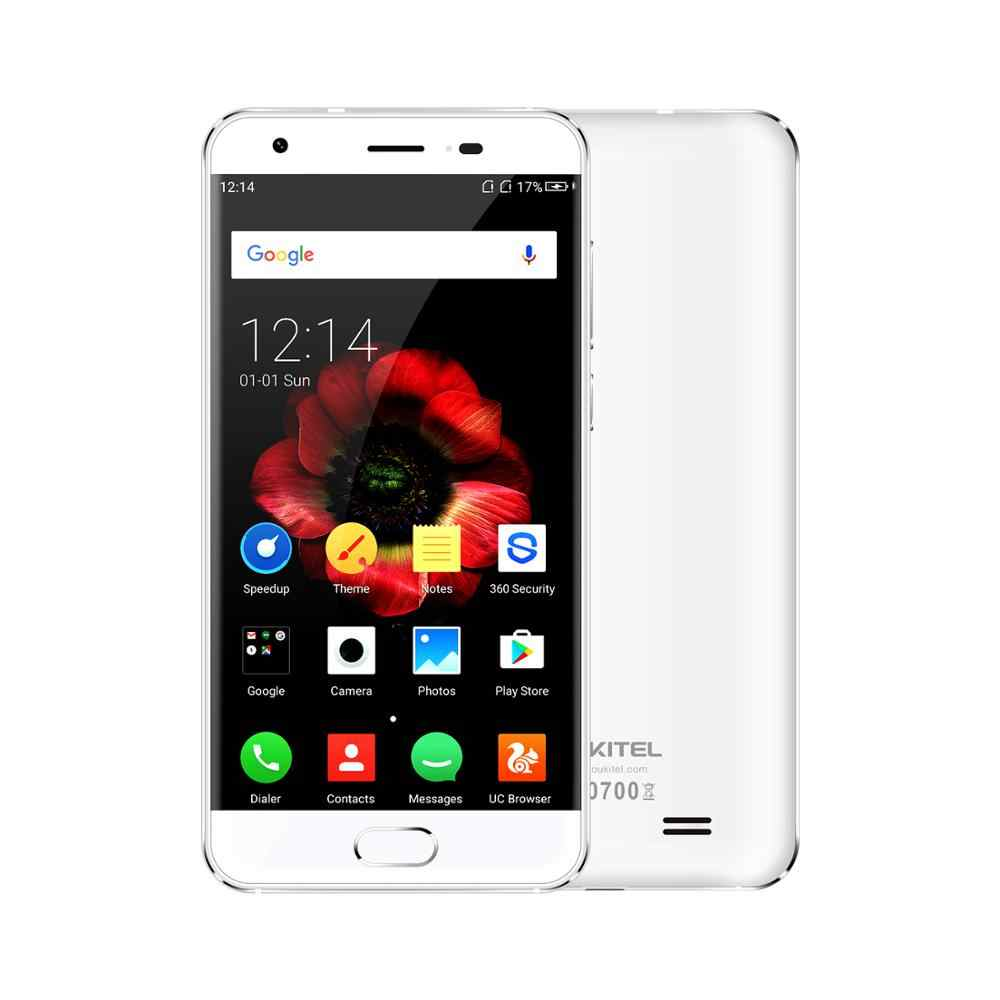"Oukitel K4000 plus 2GB RAM 16GB ROM 4000mAh Oukitel OS téléphone portable 5.0 ""Mtk6737 Octa Core 13.0mp + 5.0mp empreinte digitale intelligente"